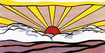 Solopgang, ca. 1965 Plakater af Roy Lichtenstein