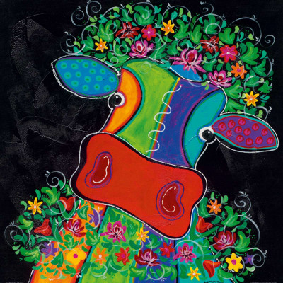 Maya In Total Bliss II Print by Y. Hope