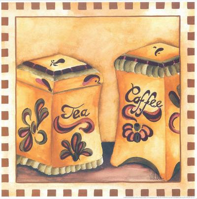 Tea And Coffee Kunstdrucke von  Urpina