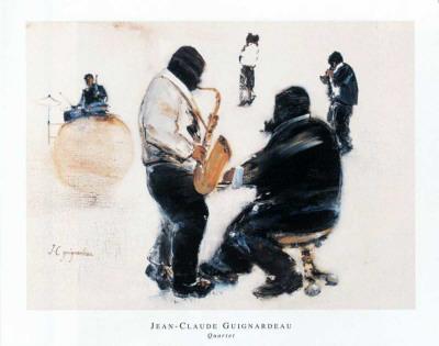 Quartet Prints by Jean-Claude Guignardeau