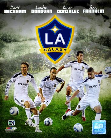 2011 Los Angeles Galaxy Composite Photo