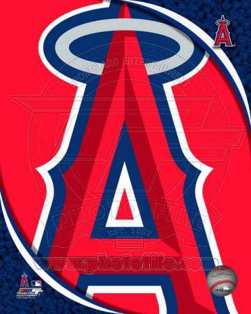 2011 Los Angeles Angels Team Logo Photo