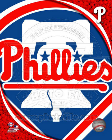 MLB 2011 Philadelphia Phillies Team Logo Photo