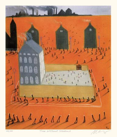 Time Without Shadows Eksklusivudgaver af Mackenzie Thorpe