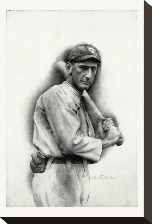 Shoeless Joe Jackson Reproduction transfre sur toile