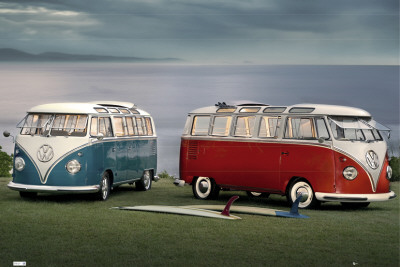 VW-Twin Kombis Poster