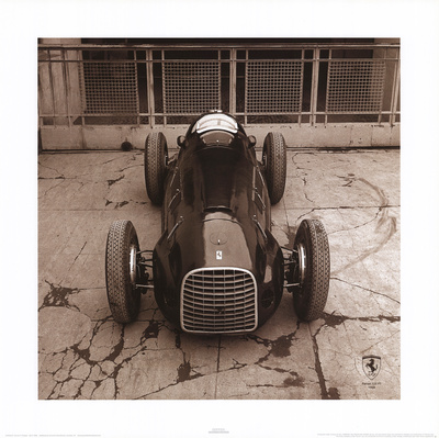 Ferrari F1 Vintage 125 F1 1948 Prints