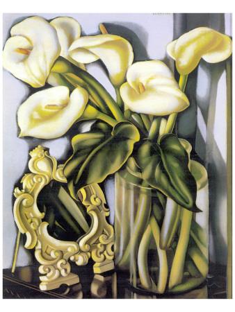 Arums III Giclée-Premiumdruck von Tamara de Lempicka