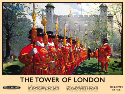 Tower of London Tin Sign