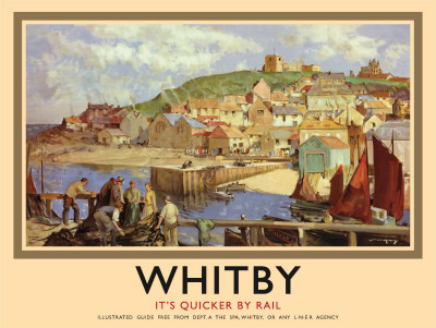 Whitby Tin Sign