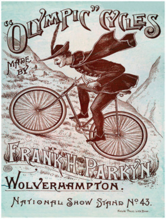 Olympic Cycles Tin Sign