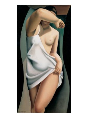 Le Modele Giclée-Premiumdruck von Tamara de Lempicka