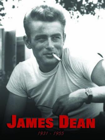 James dean metal tabela
