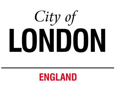 City Of London Emaille bord - bij AllPosters.be