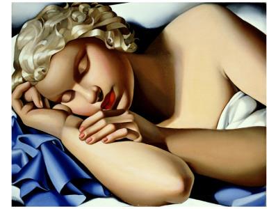 Dormeuse Premium Giclee Print by Tamara de Lempicka