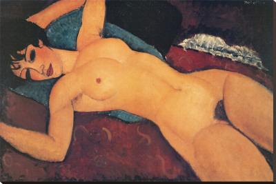 Nudo Disteso Stampa su tela di Amedeo Modigliani