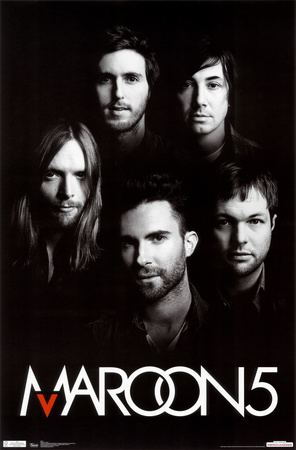Maroon 5 - Group Juliste