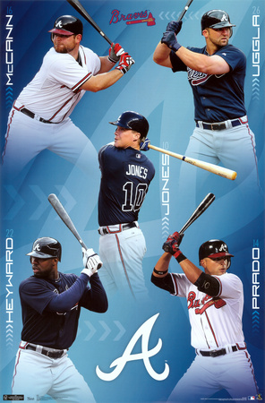 Braves Collage Poster