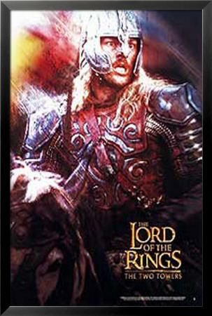 The Lord Of The Rings: The Two Towers Lamina Framed Poster
