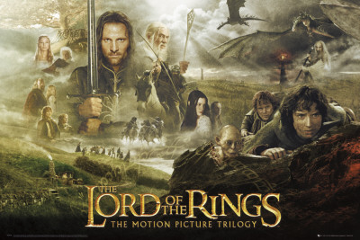 Lord of the Rings-Trilogy Poster
