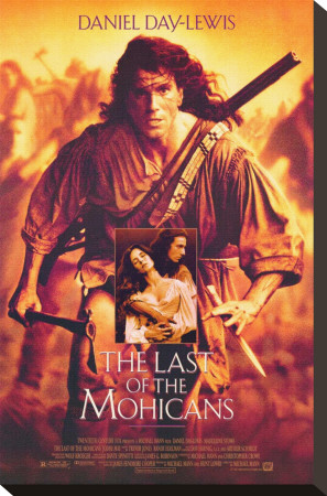 The Last of the Mohicans Stretched Canvas Print