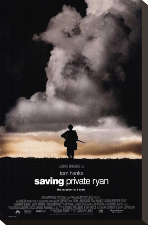 Saving Private Ryan Stretched Canvas Print