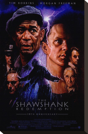 The Shawshank Redemption Stretched Canvas Print