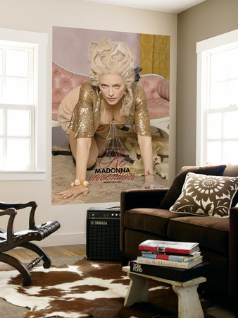 Concert Poster: Madonna, Invention Tour 2004 Wall Mural