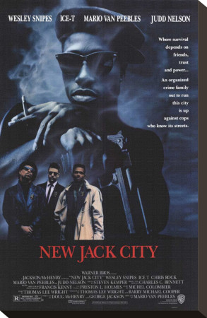 New Jack City Stretched Canvas Print