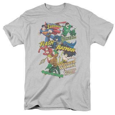 Justice League - Justice Collage T-Shirt