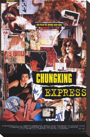 Chunking Express Stretched Canvas Print!