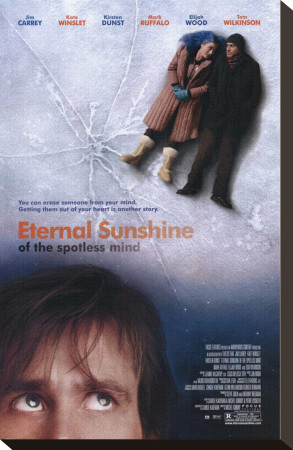 Eternal Sunshine of the Spotless Mind Sträckt Canvastryck