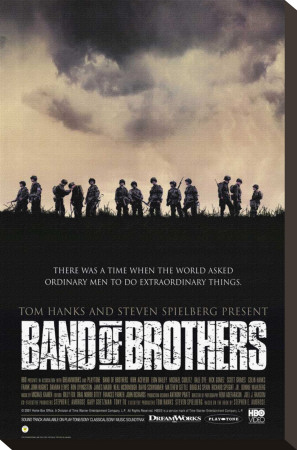 Band of Brothers Stretched Canvas Print