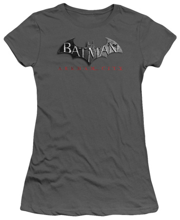 Juniors: Batman Arkham City - Arkham City Logo Shirt