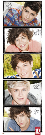 One Direction-Solos Affiches format porte
