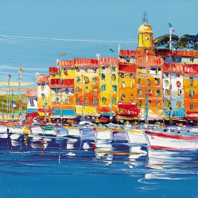 Port de St.Tropez Print by  Corbiere