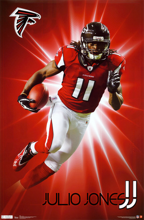 Falcons - J Jones 2011 Plakat