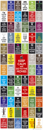 Keep Calm- Movies Ovijuliste