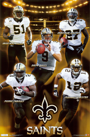 Saints - Team 2011 Plakat