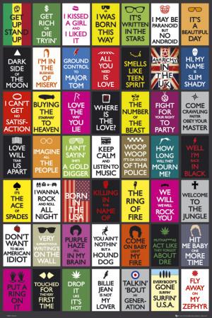 Hudební variace na plakát Keep Calm (text vangličtině) Plakát