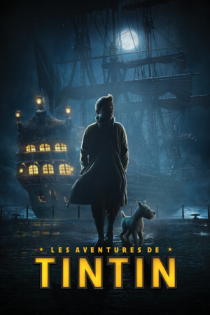 Tintin- Dock Teaser-French Affiche
