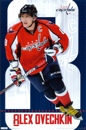 Capitals - A Ovechkin 2011 Poster