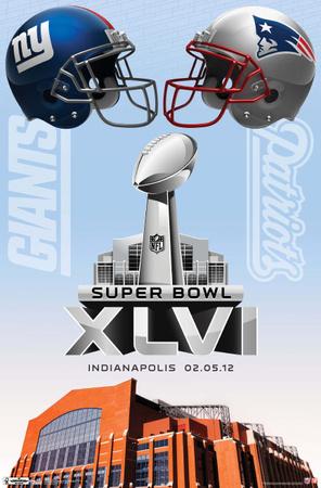 2012 Super Bowl - Event Posters