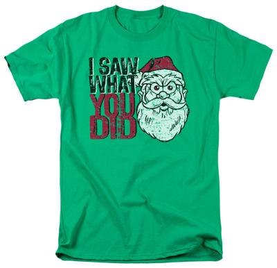 I Saw You T-shirts