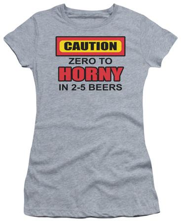 Juniors: Zero to Horny T-Shirt