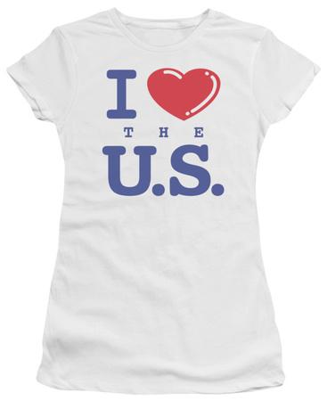 Juniors: I Love the U.S. T-shirts