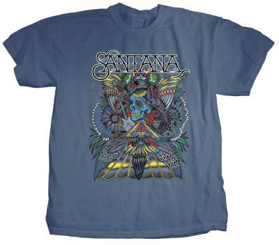 Santana - Folk Skull Bluser