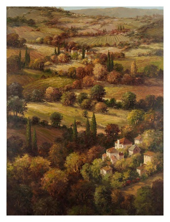 Mediterranean Countryside Posters by  Hulsey