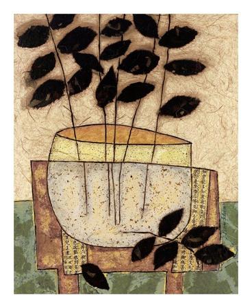 Leaf Vase I Prints by Penny Feder