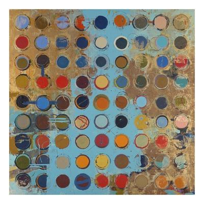 Fibonacci 213 Print by Sherry Masters